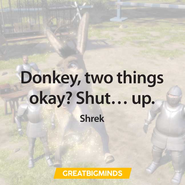 iconic shrek quotes