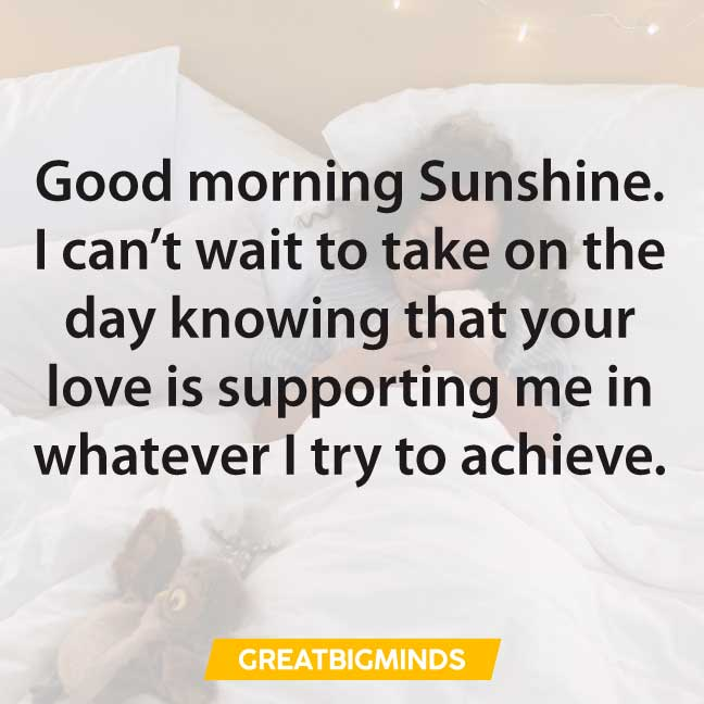 romantic good morning love quotes sayings
