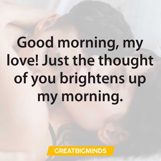 my love good morning love quotes