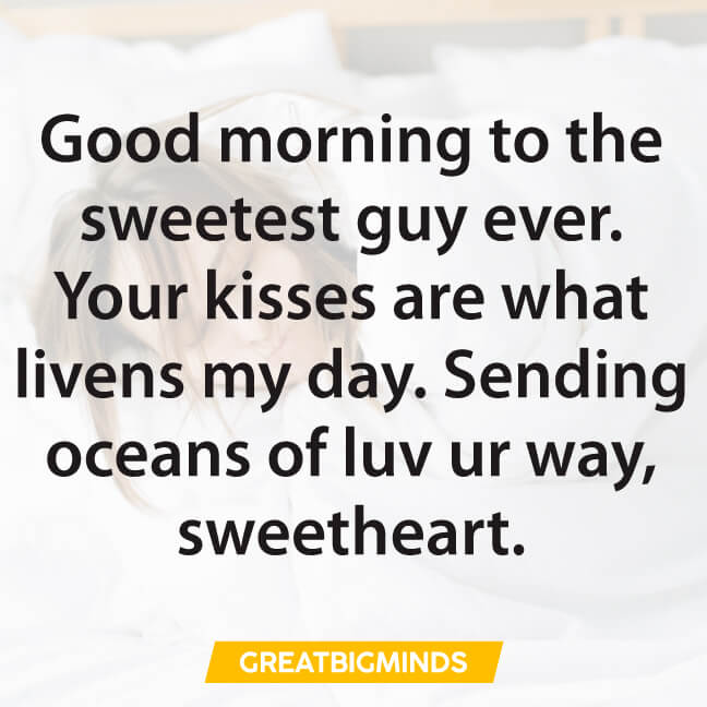 boyfriend good morning love quotes