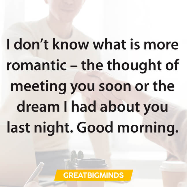 romantic good morning love quotes