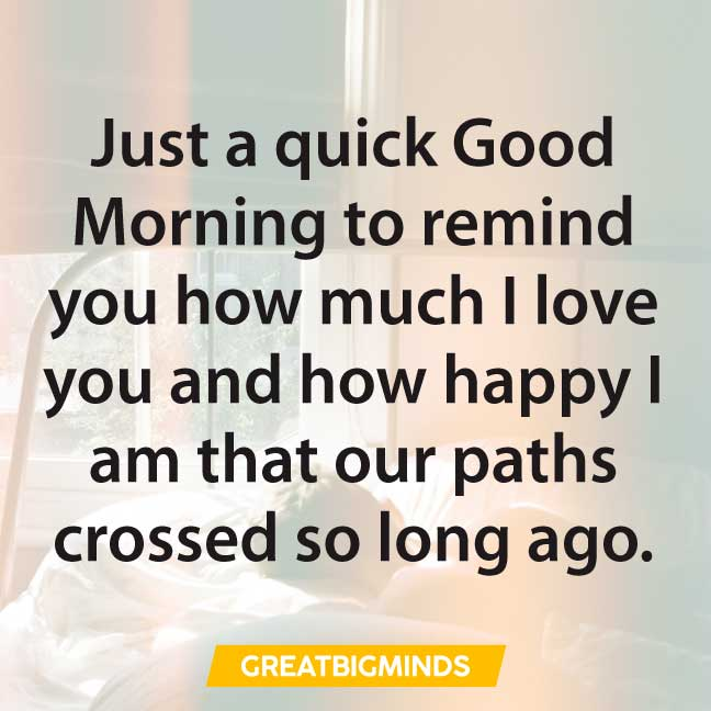 good morning love quotes i love you