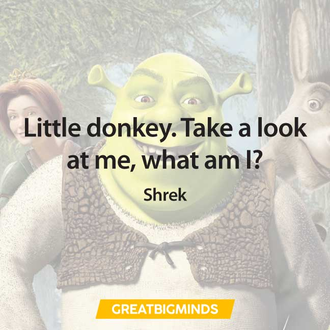 donkey shrek quotes