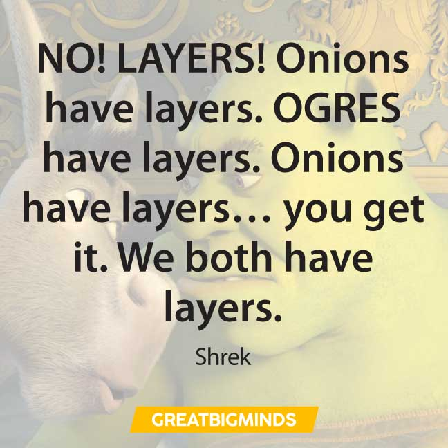 10 shrek quotes
