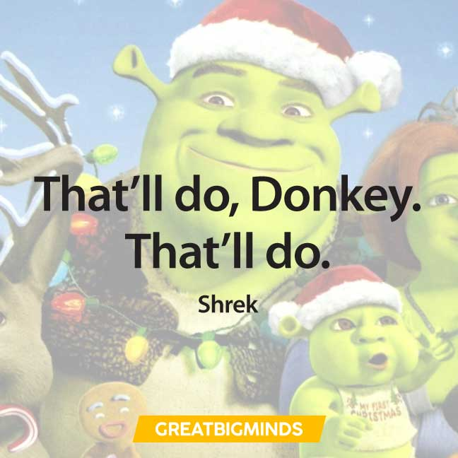 best iconic shrek quotes