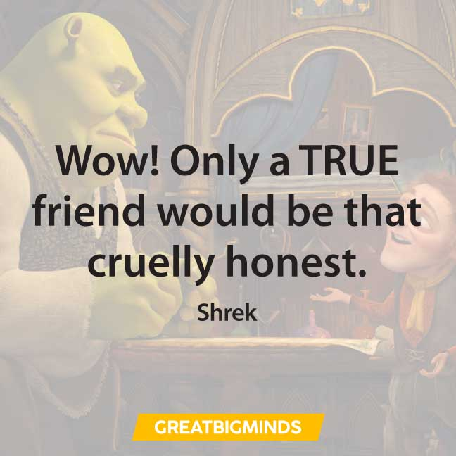 positive shrek quotes