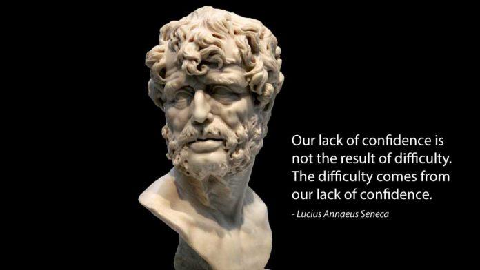 seneca quotes cover great big minds